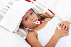 Создали «умный» градусник, сигналящий о повышении температуры у ребёнка