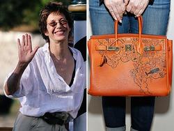 Джейн Биркин против присутствия её имени на сумках Hermes