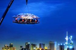 В Малайзии открыт «воздушный» ресторан
