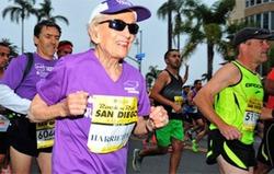 Возраст рекордам не помеха. 92-летняя американка установила марафонский рекорд