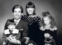 Крис с первым мужем Робертом Кардашяном и детьми фото