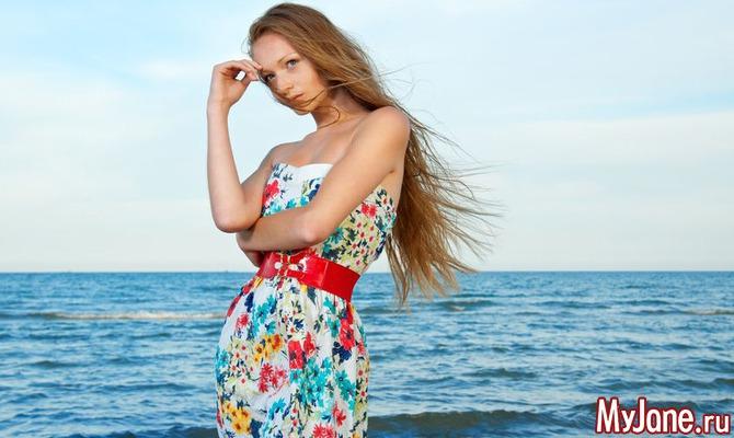 Летние платья как цветущий сад