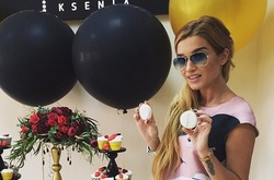 Ксения Бородина открыла свой салон красоты