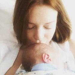 Наталья Подольская показала фото сына