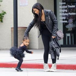 Ким Кардашян уверена, что ее дочь будет трудным подростком