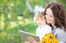 Ученые: планшеты – отличная развивающая игрушка для детей