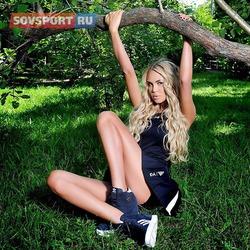 Мария Погребняк в спортивной фотосессии