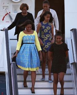 Мишель Обама приехала к детям Кейт Миддлтон не с пустыми руками