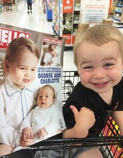 У принца Джорджа есть двойник
