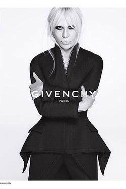 Донателла Версаче – в рекламной кампании  Givenchy