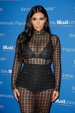 Даже будучи беременной Ким Кардашян носит «трусы»