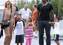 Хайди Клум с мужем и детьми фото