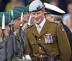 Принц Гарри оставит службу в армии