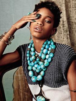 14-летняя дочь Уилла Смита делает карьеру модели