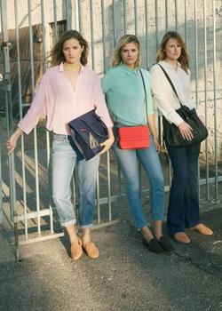 Три дочери Мерил Стрип прорекламировали одежду