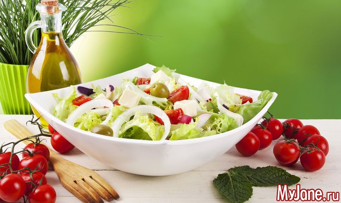 Не прожить на свете без салатов