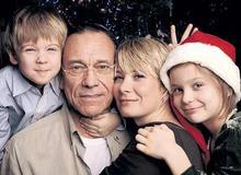 Юлия Высоцкая с семьей фото