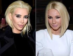 Ким Кардашян стала похожа на Леру Кудрявцеву