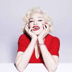 Мадонна превратилась в Мэрилин Монро