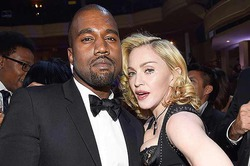 Мадонна назвала Канье Уэста «новой Мадонной»