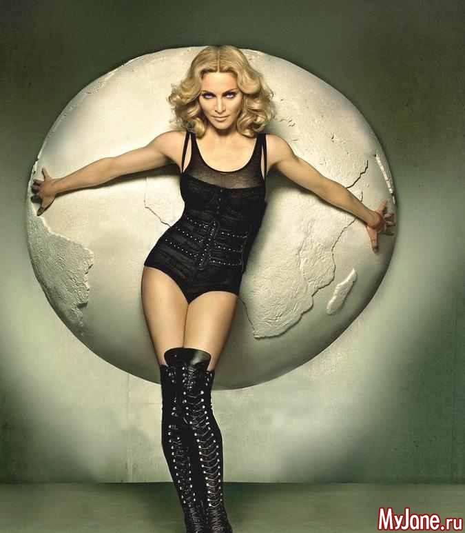 Мадонна популярна во всем мире фото
