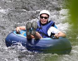 Шэрон Стоун отметила 57-й день рождения сплавом по реке