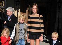 Наталья Водянова с детьми фото