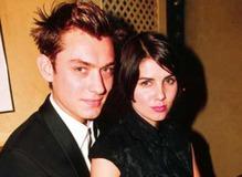 Джуд Лоу с первой женой Сэди Фрост фото
