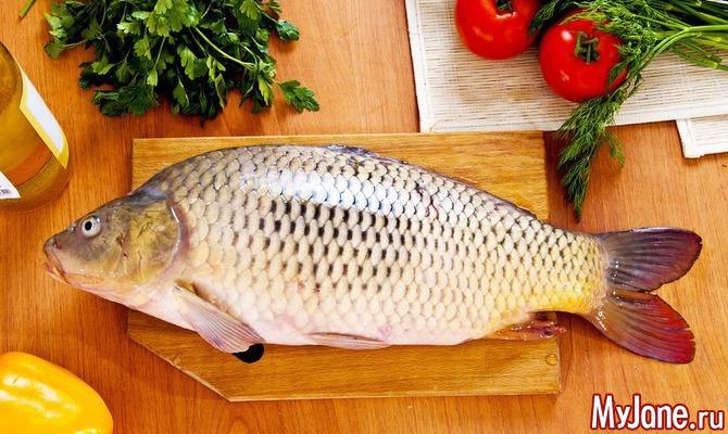 Готовим фаршированную рыбу