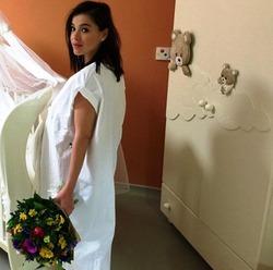Лена Темникова впервые стала мамой
