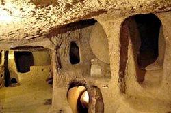 Под Турцией обнаружен самый большой подземный город