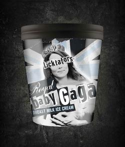 Кейт Миддлтон стала лицом бренда по выпуску мороженого из грудного молока