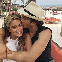 У Никки Рид и Йена Сомерхолдера наполеоновские планы на медовый месяц