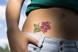 Впервые созданы «живые» татуировки