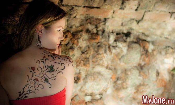 Женские татуировки: только осторожность!