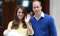 Британская принцесса названа Шарлоттой в честь дедушки
