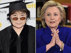 Хилари Клинтон и Йоко Оно имели в молодости отношения