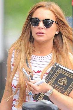 Линдсей Лохан изучает ислам
