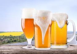 Для пива нужен правильный бокал!