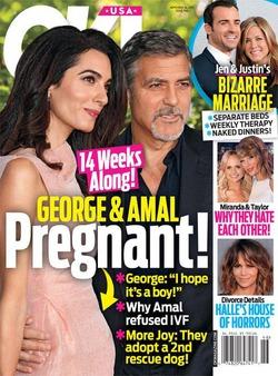 Амаль Клуни удалось забеременеть