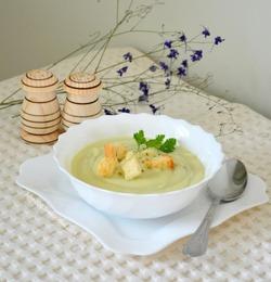 Суп-крем из цветной капусты и цуккини