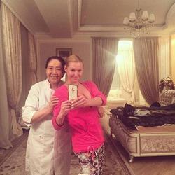 Для восстановления сил Волочкова пригласила китайского врача