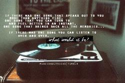 Одна песня - тысяча воспоминаний