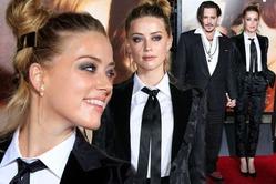 Эмбер Хёрд удивила нарядом на премьере «Девушки из Дании»