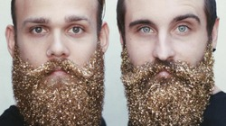 Новый новогодний тренд для усатых и бородатых
