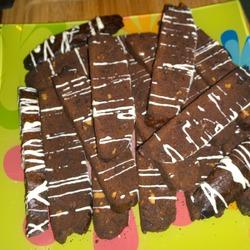 Шоколадные бискотти с орехами МК