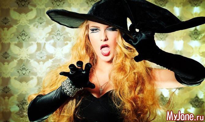 Страшная прическа: собираемся на Хэллоуин