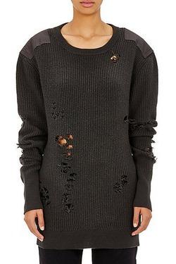 Рваный свитер от Канье Уэста стоит 2,6 тыс. долларов