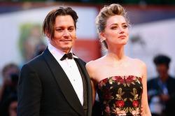 Джонни Депп пришел на премьеру вместе с женой