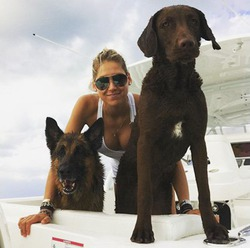 Анна Курникова и Энрике Иглесиас отдыхают в Майами